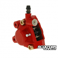 Front Brake Caliper Replacement Red