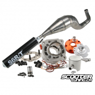 Cylinder & Exhaust Stage6 R/T 70cc Titanium ATV