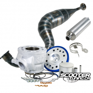 Cylinder & Exhaust 2Fast 90cc ATV