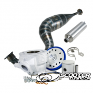 Cylinder & Exhaust 2Fast 70cc ATV