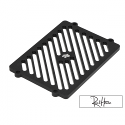 Radiator CNC Cover TRS Finned Black Honda Ruckus