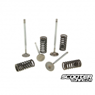 Cylinder Head Valve with Spring Malossi