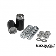 Front Fork 2'' Lowering Spring kit Composimo Black (Grom)
