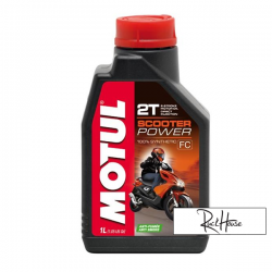 Motul 2T Oil Scooter Power 100% Synthetic – Anti Smoke (1L)