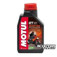 Motul 2T Oil Scooter Power 100% Synthetic – Anti Smoke (1L)