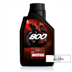 Motul 2T Oil 800 Factory Line 100% Systhetic (1L)