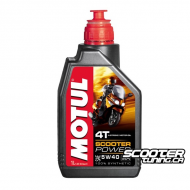 Motul 4T Oil Scooter Power MA 5W40 Technosynthese (1L)