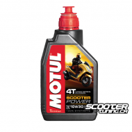 Motul 4T Oil Scooter Power MB 10W30 100% Synthetic (1L)