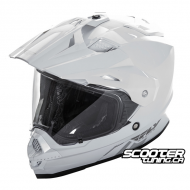Helmet Fly Racing Trekker Dual Sport White