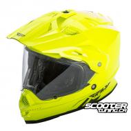 Helmet Fly Racing Trekker Dual Sport Hi-Vis