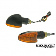 (2X) Indicator Light Black / Orange