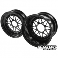 Wheel Set 8-Spoke V2 Black (12x8-12x4)